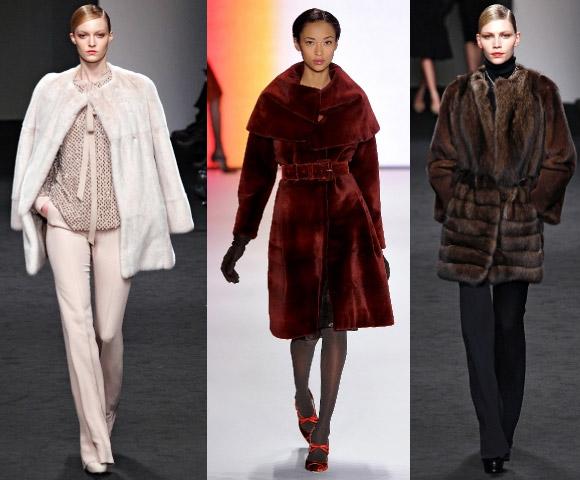 На фото: Шубы 2012: что будет модно в предстоящем сезоне