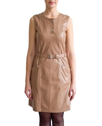 Фото девушки в платье для фабрики меха и кожи Кроманьон