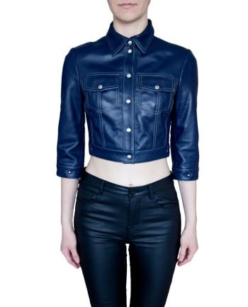 Фото девушки в пиджаке для фабрики меха и кожи Кроманьон